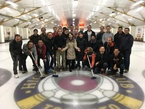 Quantum Curling
